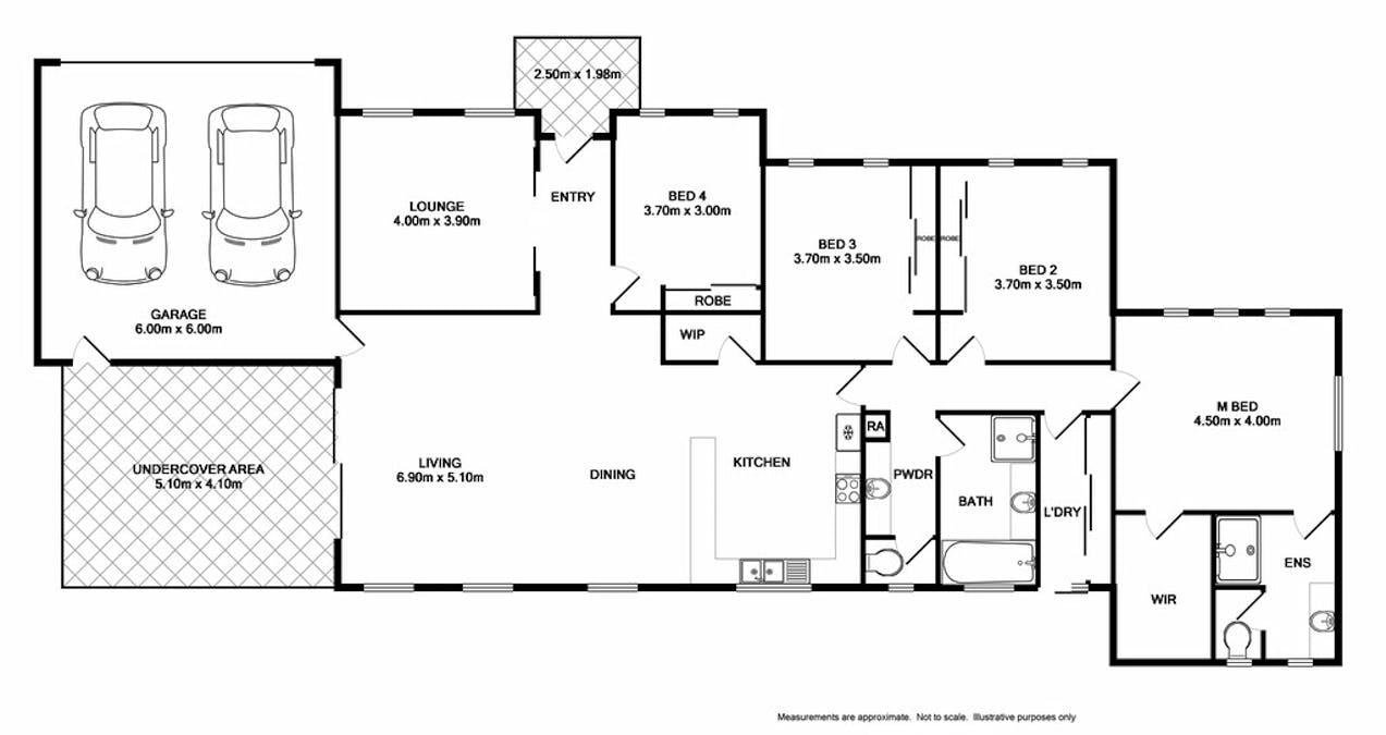 25 Bremer Avenue, Wodonga, VIC, 3690 - Floorplan 1