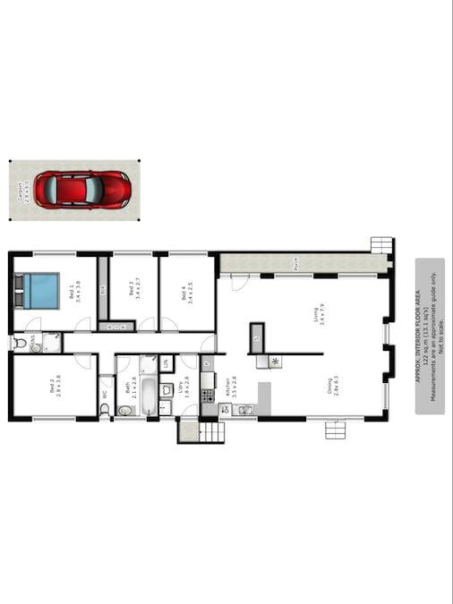 517 Hill Street, West Albury, NSW, 2640 - Floorplan 1