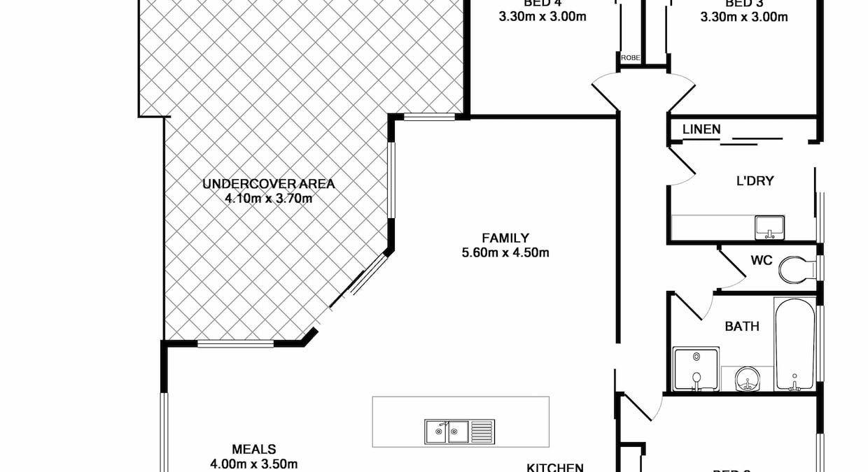 57 Craig Circuit, Wodonga, VIC, 3690 - Floorplan 1