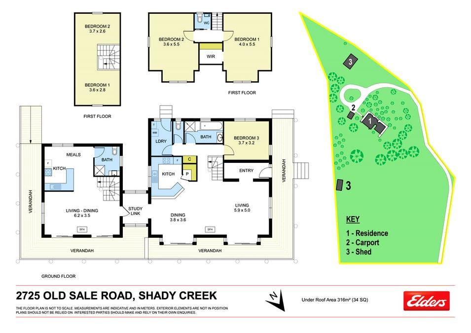 2725 Old Sale Road, Shady Creek, VIC, 3821 - Floorplan 1