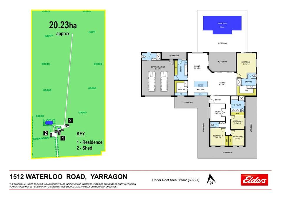 1512 Waterloo Road, Yarragon, VIC, 3823 - Floorplan 1