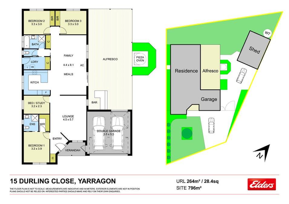 15 Durling Close, Yarragon, VIC, 3823 - Floorplan 1