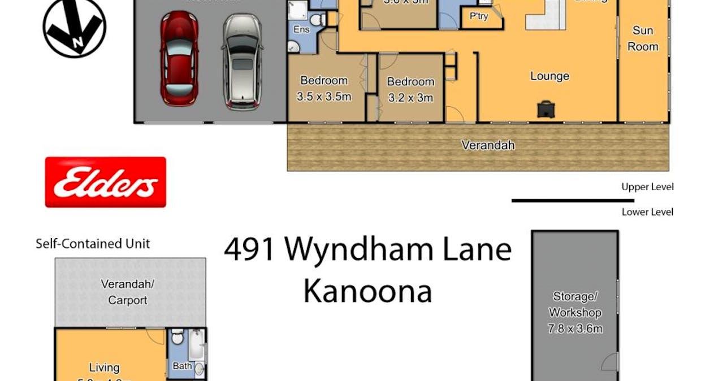 491 Wyndham Lane, Kanoona, NSW, 2550 - Floorplan 1