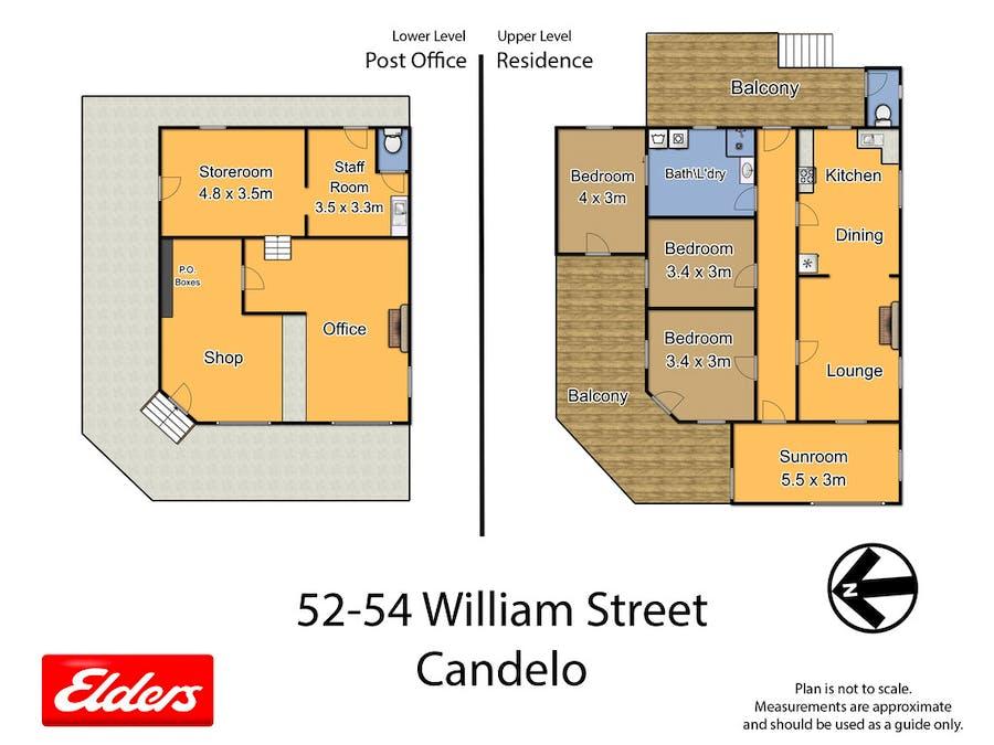 52 William St, Candelo, NSW, 2550 - Floorplan 1