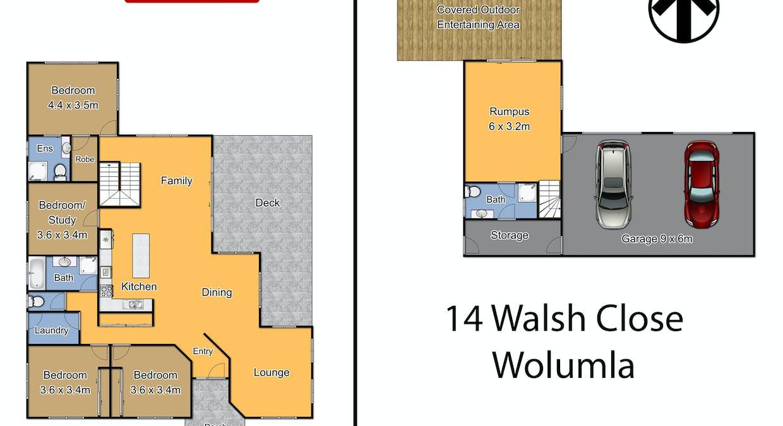 14 Walsh Close, Wolumla, NSW, 2550 - Floorplan 1