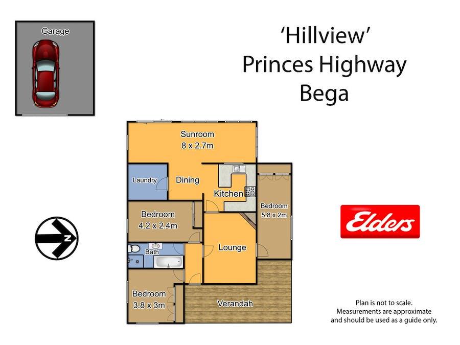 335 Angledale Rd, Angledale, NSW, 2550 - Floorplan 1