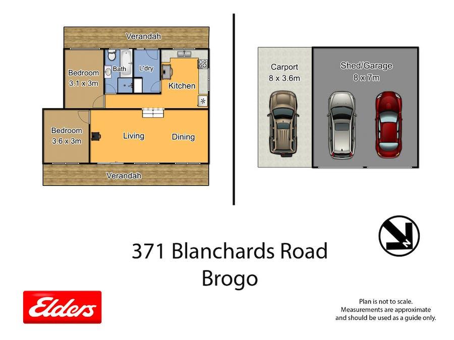 371 Blanchards Rd, Brogo, NSW, 2550 - Floorplan 1