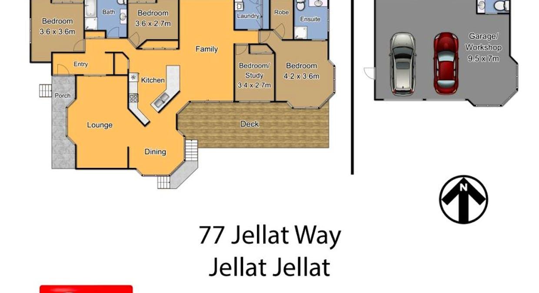 77 Jellat Way, Kalaru, NSW, 2550 - Floorplan 1