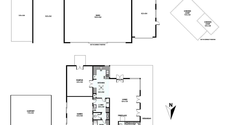 1353 Warren Road, Williamstown, SA, 5351 - Floorplan 1