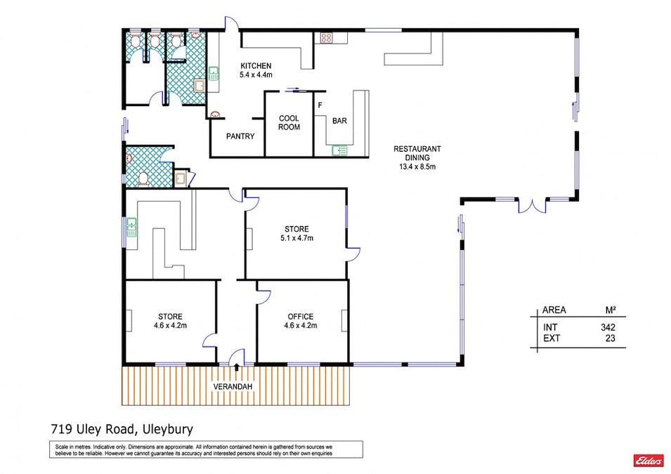 719 Uley Road, Uleybury, SA, 5114 - Floorplan 1
