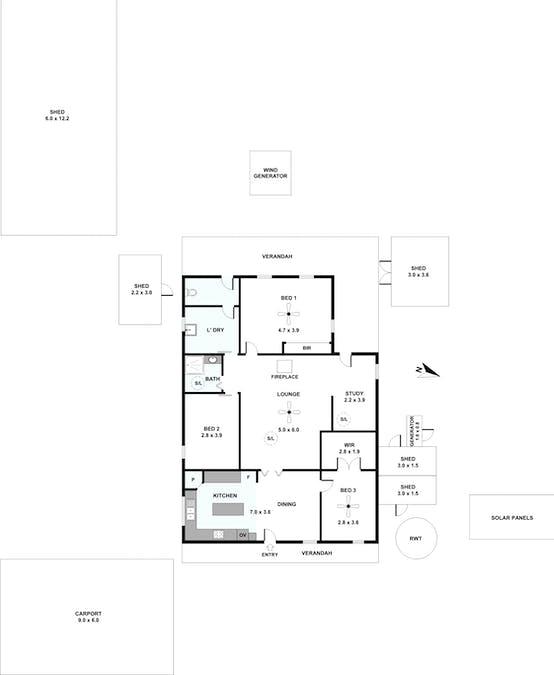 97 Howard Road, Annadale, SA, 5356 - Floorplan 1