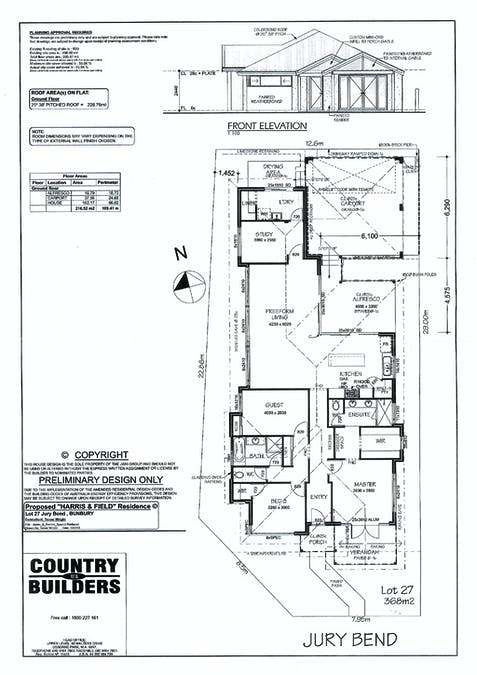 1 Jury Bend, Carey Park, WA, 6230 - Floorplan 1