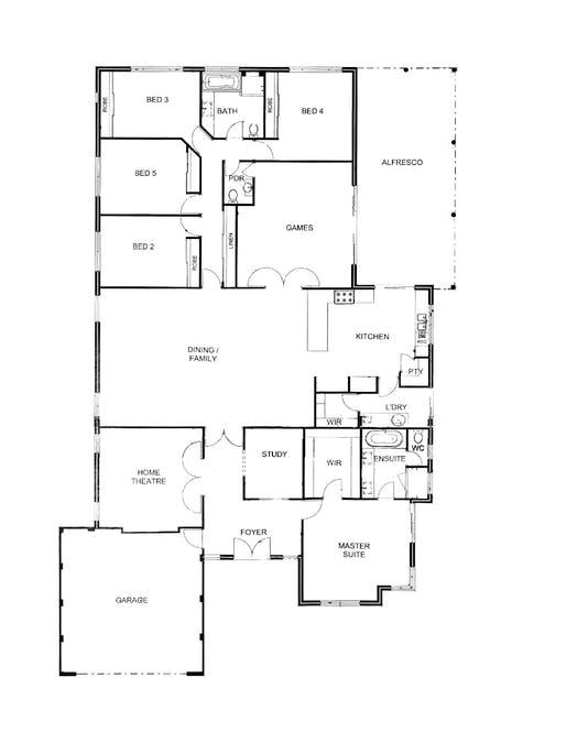 7 Armstrong Street, Boyanup, WA, 6237 - Floorplan 1