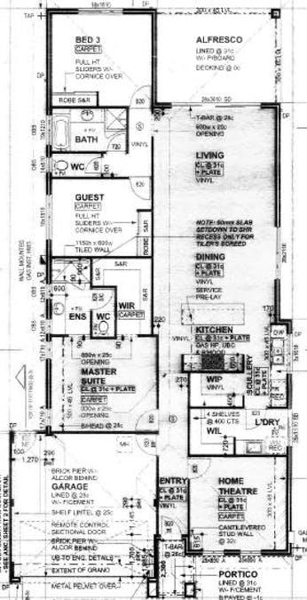 55 Murtin Road, Dalyellup, WA, 6230 - Floorplan 1