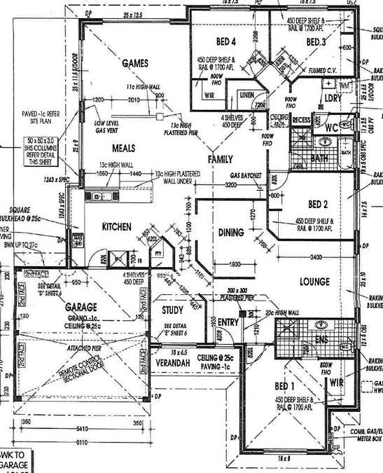 31 Leicester Ramble, Eaton, WA, 6232 - Floorplan 1